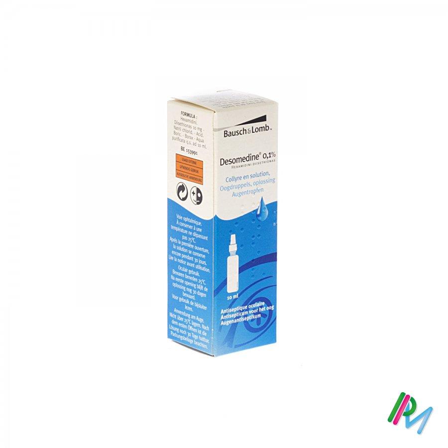 Desomedine 0.1% Oogdruppels 10 ml