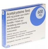 Acetylcysteïne Teva 600mg 10 bruistabletten