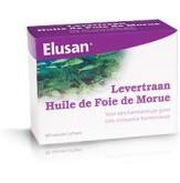 Elusan Levertraanolie Pfs 60 Caps