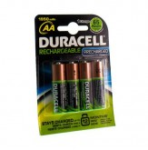 Duracell Rechargeable Stay Charged Aa 4 stuks