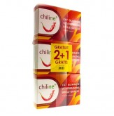 Chiline Vetverbranding Tripack 2 + 1 Gratis 3 x 60 tabletten