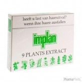 Implan Classic 9 Plants Extract Haaruitval Ampoules 4 ampoules