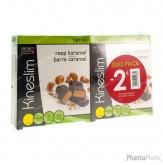 Kineslim Reep Karamel Duopack -2€ 2x4 stuks