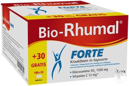 Bio-Rhumal Forte 180 + 30 gratis tabletten PROMO -20%