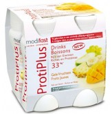 Modifast Protiplus Drinks Fruits Jaune 4x125ml