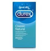 Durex Préservatifs Classic Natural 24 pièces