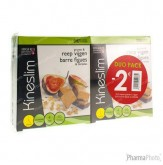 Kineslim Barre Cereals/Figues Duopack -2€ 2x4 pièces