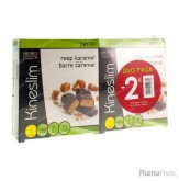 Kineslim Barre Caramel Duopack -2€ 2x4 pièces