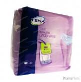 Tena Protective Underwear Women Discreet Large 795303 10 pièces