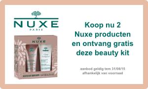 Nuxe - 2 producten kopen - gratis beauty kit